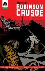 Book cover of ROBINSON CRUSOE