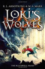 Book cover of BLACKWELL PAGES 01 LOKI'S WOLVES