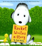 Book cover of ROCKET WRITES A STORY