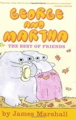 Book cover of GEORGE & MARTHA THE BEST OF FRIENDS