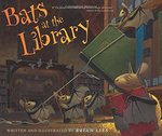 Book cover of BATS AT THE LIBRARY