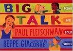 Book cover of BIG TALK