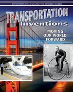 Book cover of TRANSPORTATION INVENTIONS MOVING OUR WOR