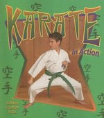 Book cover of KARATE IN ACTION