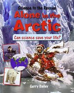 Book cover of ALONE IN THE ARCTIC