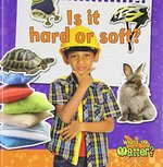 Book cover of IS IT HARD OR SOFT