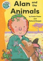 Book cover of ALAN & THE ANIMALS