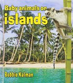 Book cover of BABY ANIMALS ON ISLANDS