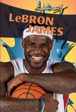 Book cover of LEBRON JAMES