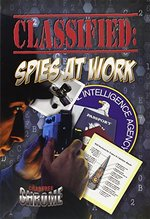Book cover of CLASSIFIED SPIES AT WORK - CHROME