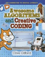 Book cover of AWESOME ALGORITHMS & CREATIVE CODING