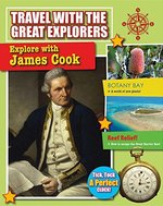 Book cover of EXPLORE WITH JAMES COOK