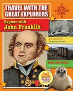 Book cover of EXPLORE WITH JOHN FRANKLIN