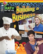 Book cover of MATH ON THE JOB BUILDING A BUSINESS