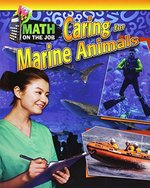 Book cover of MATH ON THE JOB CARING FOR THE MARINE AN