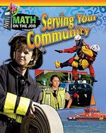 Book cover of MATH ON THE JOB SERVING YOUR COMMUNITY