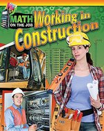 Book cover of MATH ON THE JOB WORKING IN CONSTRUCTION