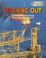 Book cover of BURNING OUT ENERGY FROM FOSSIL FUELS