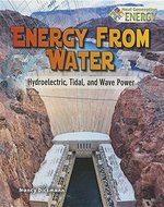 Book cover of ENERGY FROM WATER HYDROELECTRIC TIDAL &