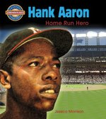 Book cover of HANK AARON HOME RUN HERO