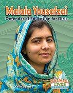 Book cover of MALALA YOUSAFZAI - DEFENDER OF EDUCATION