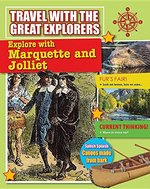 Book cover of EXPLORE WITH MARQUETTE & JOLLIET