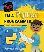 Book cover of I'M A PYTHON PROGRAMMER