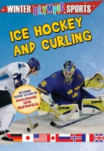 Book cover of ICE HOCKEY & CURLING