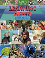 Book cover of LEARNING GREEN - CAREERS IN EDUCATION