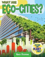 Book cover of WHAT ARE ECO-CITIES