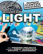 Book cover of RECREATE DISCOVERIES ABOUT LIGHT