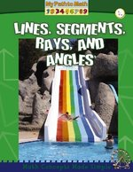 Book cover of LINES SEGMENTS RAYS & ANGLES
