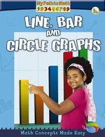 Book cover of LINE BAR & CIRCLE GRAPHS