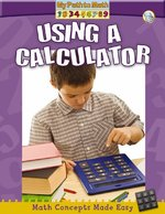 Book cover of USING A CALCULATOR