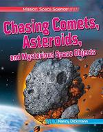 Book cover of CHASING COMETS ASTEROIDS & MYSTERIOUS SP