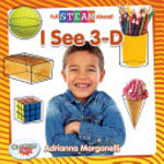 Book cover of I SEE 3-D
