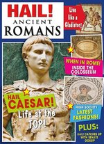 Book cover of HAIL ANCIENT ROMANS