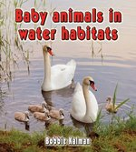 Book cover of BABY ANIMALS IN WATER HABITATS