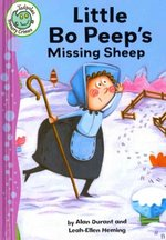 Book cover of LITTLE BO-PEEP'S MISSING SHEEP