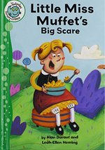Book cover of LITTLE MISS MUFFET'S BIG SCARE