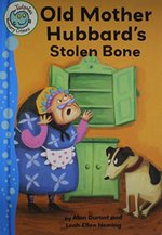Book cover of OLD MOTHER HUBBARD'S STOLEN BONE