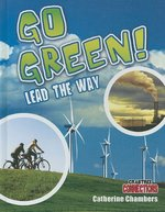 Book cover of GO GREEN LEAD THE WAY