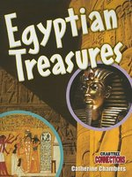 Book cover of EGYPTIAN TREASURES