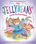Book cover of JELLYBEANS & THE BIG CAMP KICKOFF