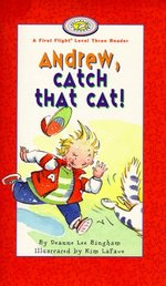 Book cover of ANDREW CATCH THAT HAT