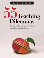 Book cover of 55 TEACHING DILEMMAS