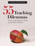 Book cover of 55 TEACHING DILEMMAS
