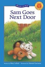 Book cover of SAM GOES NEXT DOOR