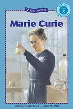 Book cover of MARIE CURIE - KIDS CAN READ