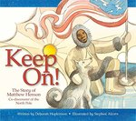 Book cover of KEEP ON - STORY OF MATTHEW HENSON CO-DIS